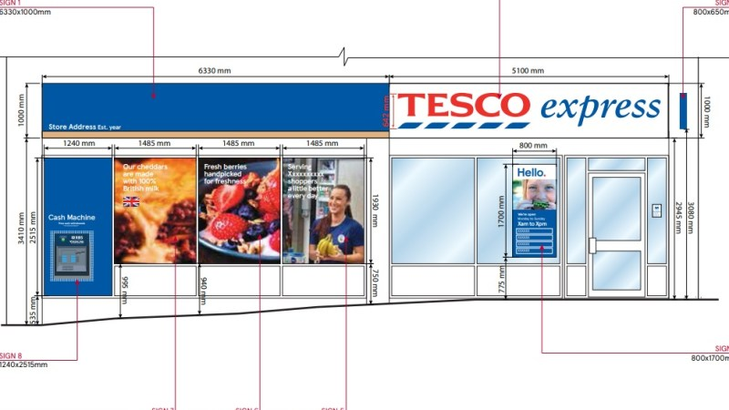 Tesco look to open new store in Eltham