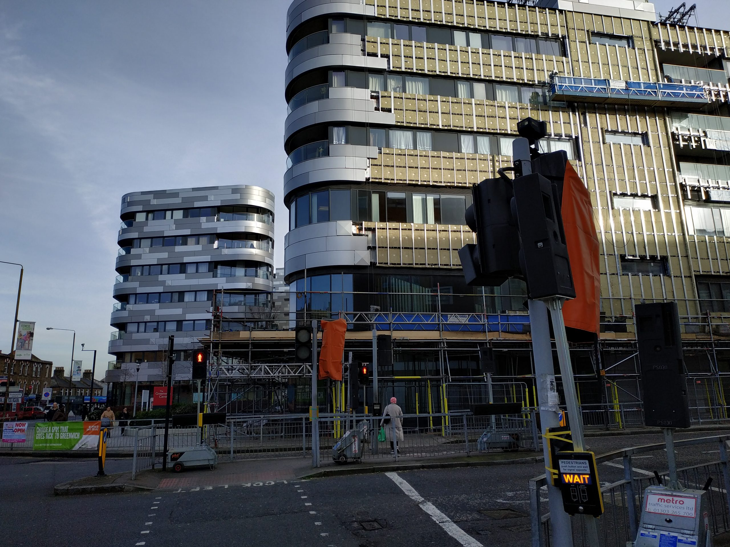 Greenwich Centre sees flammable cladding finally being removed