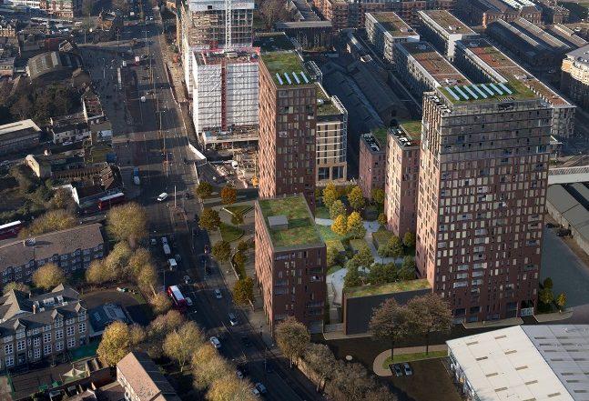 Woolwich Crossrail towers: Increase in homes under new plan