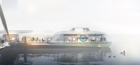 Canary Wharf to Rotherhithe ferry starting next year