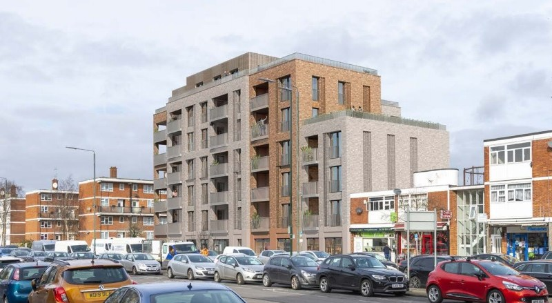 Block of flats and shops planned near Belvedere station