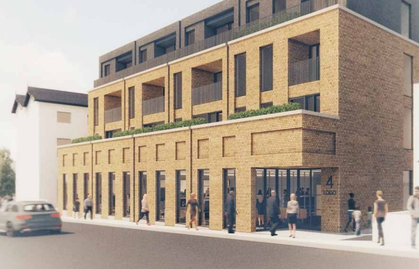 Plan submitted for new housing block in Dartford town centre