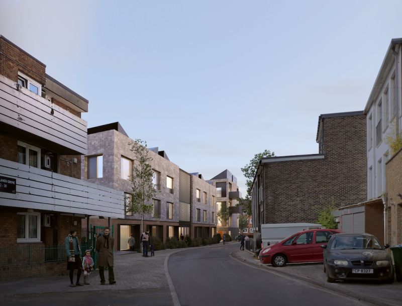 Greenwich council homes approved