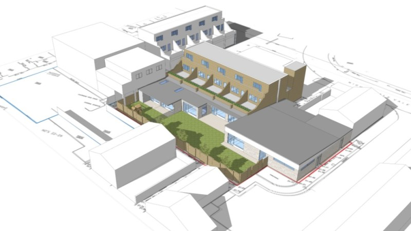 Work begins on new Woolwich community centre – shame about public realm outside
