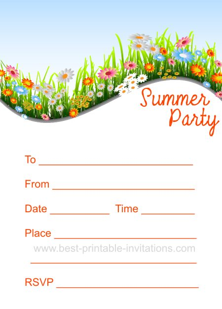 how to make party invites