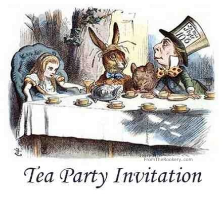 Mad Hatter Tea Party Invitations Will Give You Extra Ideas To Create Your Own Invitation 3
