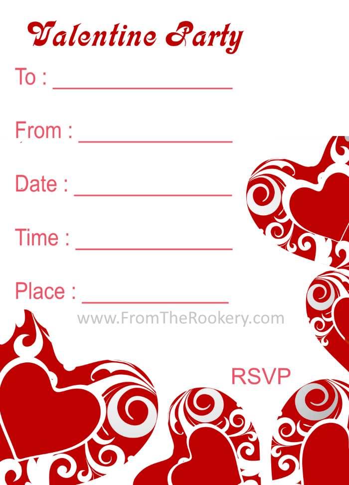 Valentines Day Invitations