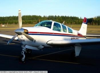 Beechcraft Bonanza N334HD