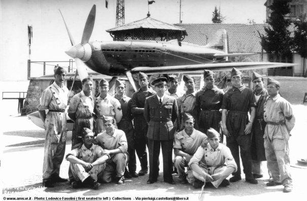 Macchi C-72 Foto di gruppo Agello
