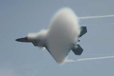 F-22 Vapor Cone