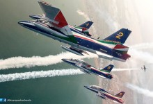 Photo of Frecce Tricolori 2017: Calendario Esibizioni e Air Show