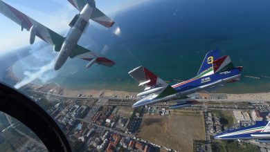 Photo of Frecce Tricolori: addestramento in Croazia con il team Krila Oluje