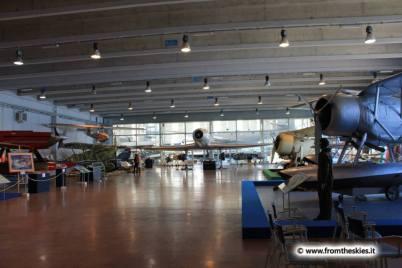 museo storico aeronautica militare - vigna di valle - Hangar Velo