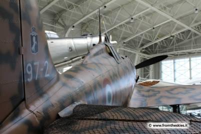museo storico aeronautica militare - vigna di valle - macchi mc 205 veltro