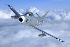 F-86A N48178 © John Dibbs – The Plane Picture Company