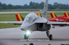 Alenia Aermacchi T346A Aeronautica Militare - 55PAN Rivolto 2015