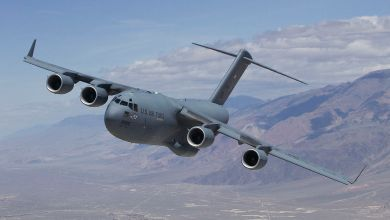 Photo of C-17 Globemaster III atterra nell'aeroporto sbagliato
