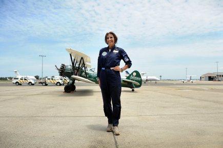 Tracey Curtis-Taylor atterra a Sydney