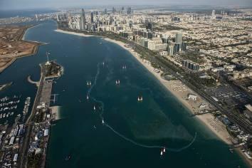 Red Bull Air Race 2016 - Abu Dhabi - Track