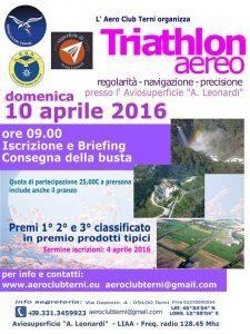 Triathlon Aereo 2016 - Terni