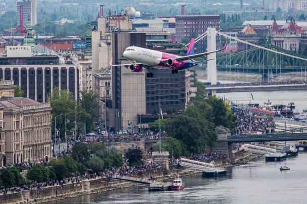 The Great Race 2016 - Budapest - A321 WizzAir 2