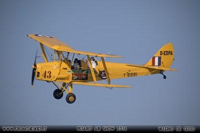 Tiger Moth - Pesaro Air Show 2016