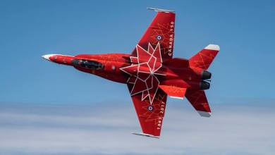 Photo of La Royal Canadian Air Force svela il CF-18 Special Color