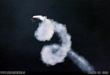 Photo of Il Lomcovak delle Frecce Tricolori in slow motion