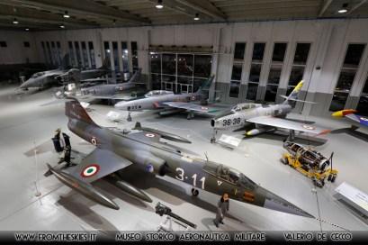 F-104G - Museo Storico Aeronautica Militare (7)