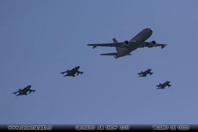 Grosseto Air Show 2017 - KC-767A, Tornado, AMX