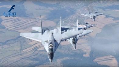Photo of In volo con i MiG-29 Fulcrum della Bulgarian Air Force