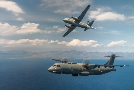 Breguet P-1150 Atlantic e P-72A (3) - Credit: Davide Calasanzio