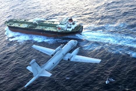 2010 Atlantic in volo sul mare