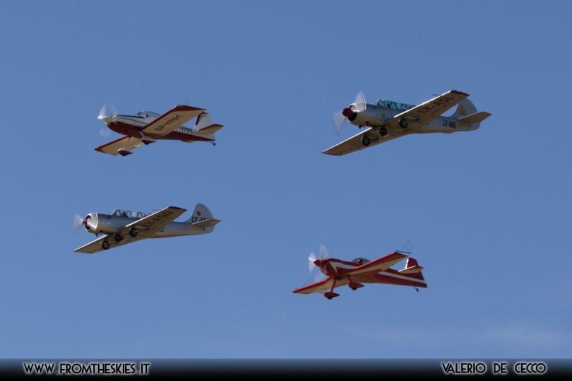 YAK-52, CAP-231, RV-8