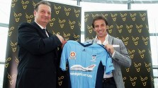 Del Piero with Pignata at official signing