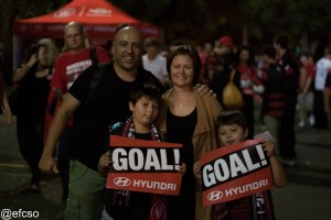 Wanderers fans will be there to cheer on their team. Photo by @efcso