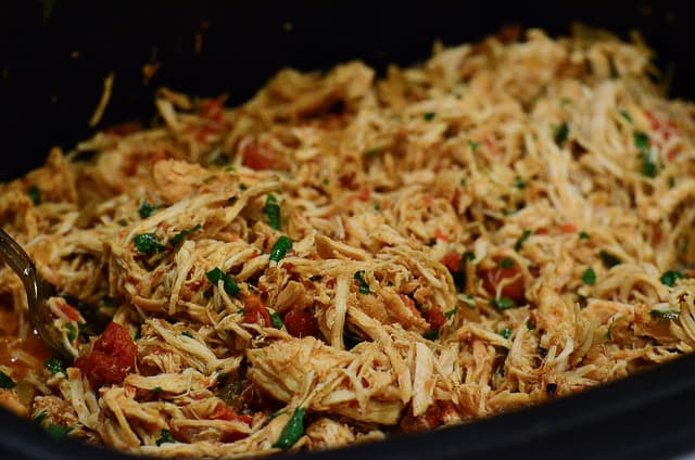 Crock-Pot Chicken Tacos | From Valerie's Kitchen