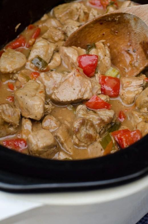 slow cooker caribbean pork from valeries kitchen - Valeries Kitchen