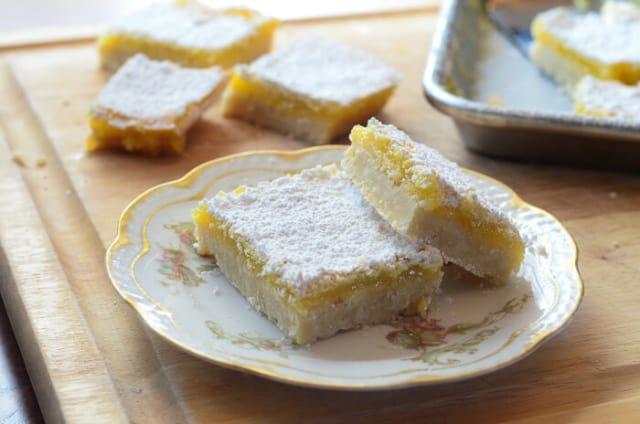 Mom's Lemon Bars | From Valerie's Kitchen