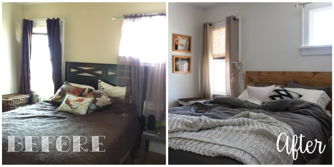 ORC Bedroom 2015 Before and After