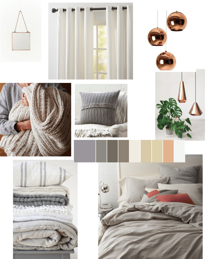 ORC Cozy Neutral Bedroom Inspiration Board