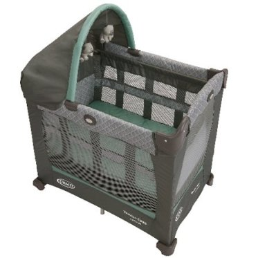 Mini Pack n Play Graco Travel Lite Crib with Stages