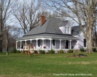 Farm House Porches | Country Porches | Wrap Around Porches