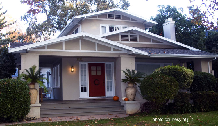 Plans Craftsman House Bungalow American