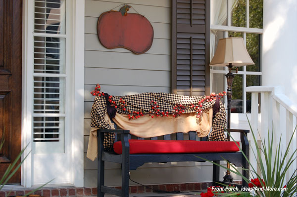 Front Porch Appeal Newsletter September 2016  Fall Porch