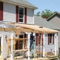 How to Build a Porch   Build a Front Porch   Front Porch ...