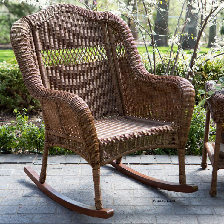 Wicker Rocking Chair  Outdoor Rocking Chair  Rocking