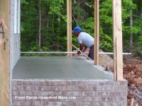 Porch Foundations | Porch Repairs | Porch Footing