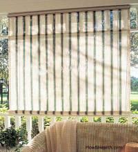 Sunroom Window Treatments | Sunroom Curtains | Sunroom Decor