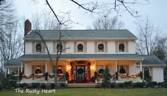 Diy Christmas Porch Ideas 8 Front Decorating